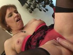 Humping a mature in cute lingerie movies at sgirls.net