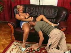 Horny milf penetrated by his meaty dick videos