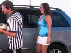 Slutty soccer mom fucked in minivan videos