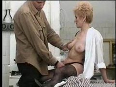 Mother with hairy pussy gets young meat videos