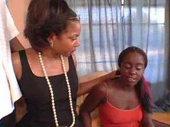 Black mom and daughter laid by black dude movies at sgirls.net