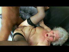 Black doctor fucking horny old lady videos