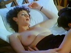 Tremendous retro pussy eating porn movies at sgirls.net
