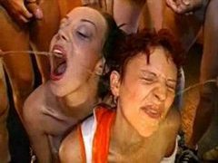 Lots of piss and cum for dirty sluts movies at find-best-lesbians.com