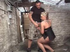 Down in the basement fucking a german slut videos