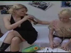 Young blonde is seduced by her aunt movies at sgirls.net