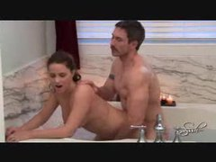 Curvy girl fucked in the bathtub movies at adipics.com