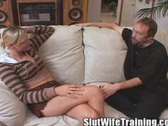 Anastasia husband listens in on wife's training movies at sgirls.net