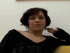 Slender german girl takes her time stripping videos
