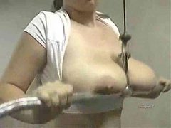 Chubby big tits girl bouncing her boobs movies at kilopics.net