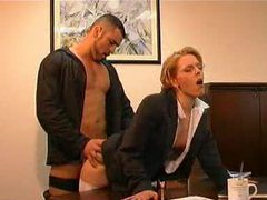 An office fuck clip with two scenes videos