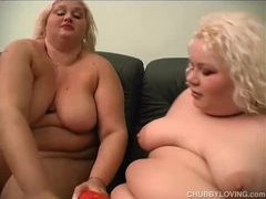 Beautiful blonde bbw lesbians videos