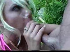 Blonde bimbo suck and fuck outdoors movies at find-best-videos.com