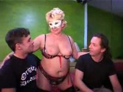 Amateur with hot wives in masks movies at sgirls.net
