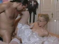 Beautiful blonde bride in glasses fucked movies at find-best-panties.com