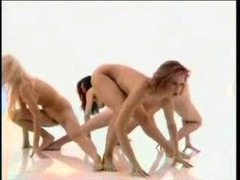 Nude chicks doing aerobics videos