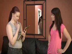 Redheaded lesbian is in charge and loves strapon sex tubes