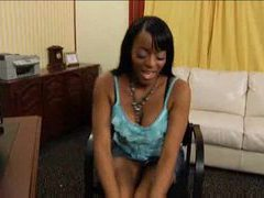 Black chick and black dick in fun scene tubes