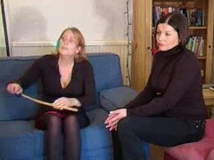 Young girl spanked and caned movies at adipics.com