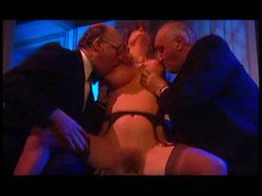 Mature blonde likes the group scene videos