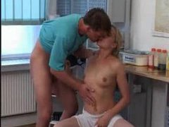 Dirty doctor fucks naughty nurse in her cunt videos