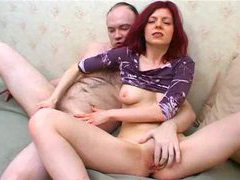 Redheadd fingered fantastically and fucked movies at kilopics.net