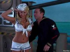 Sexy sailor outfit on this blonde slut movies at kilopills.com
