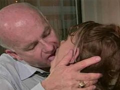 Young woman takes old man cock in office movies at dailyadult.info