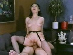 Classic porn foursome with stocking sluts videos