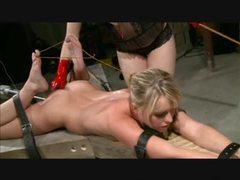 Machined paddled and masturbated videos
