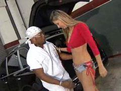 Lusty latina gets horny for that black dick movies at freekilosex.com