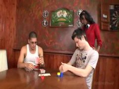 He wins the black girl in a poker game videos