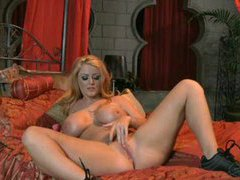 Sophie dee as a blonde masturbating pussy movies at freelingerie.us