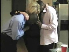 Black guys nail a mature blonde wife movies at lingerie-mania.com