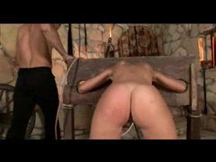 Put in the stocks and spanked hard videos
