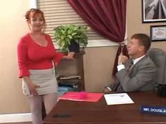 Chubby milf redhead secretary fucked in office videos