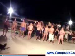 Naked college initiation videos