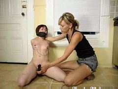 Lesbian domination with hot strapon sex movies