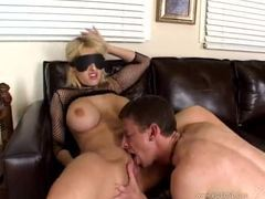Blindfolded cocksucker is fucked hard videos