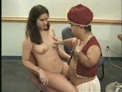Midget man dressed as genie fucking young brunette movies at find-best-ass.com