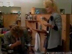 Classic porn scene in a barber shop movies at adspics.com