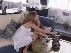 Lots of lesbian kissing and some pussy eating videos