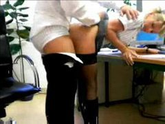 Slutty secretary boned by the boss videos