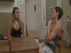The lesbians make out and eat hot pussy movies at adspics.com