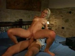 Slender perky tit blonde fucked and he cums for her movies at adspics.com