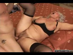 Granny with a fat ass fucked hard movies at sgirls.net