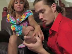 Pantyhose footjob leads to fuck videos