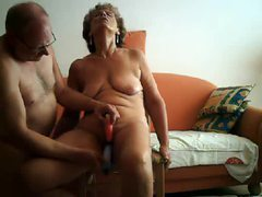 Mature couple dildo play for the wife videos
