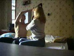 Couple fucks while camera watches movies at kilopics.net