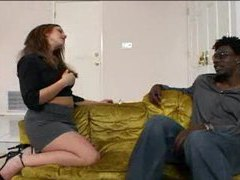 Can she seduce the black guy? videos